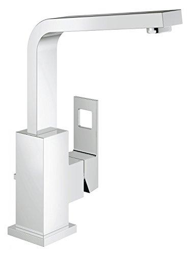 GROHE Eurocube | Badarmatur - Waschtischarmatur | hoher und schwenkbarer Auslauf | 23135000