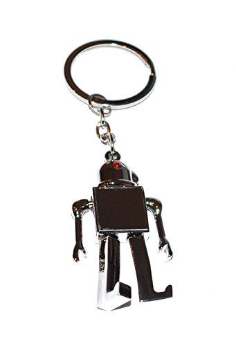 Preisvergleich Produktbild Roboter Schlüsselring / Schlüsselanhänger (Robot Keyring)