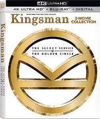 Kingsman: 2-Movie Collection (Steelbook) [4K Ultra HD + Blu-ray + Digital HD]