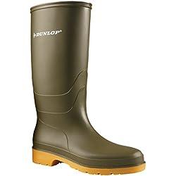 Dunlop Protective Footwear Dunlop Dull, Botas de Goma de Trabajo Unisex Adulto, Verde (Green 001), 42 EU