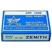 Zenith Punti Metallici Universali Art. 130/e (6/4) 1 Scatolina Da 1000 Punti