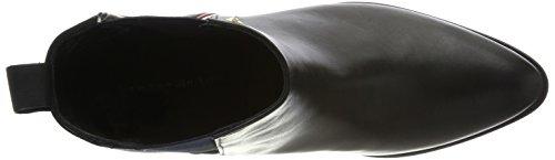 et Bottines Femme Tommy Z1285oe Noir Hilfiger Black Souples Bottes 2a c7cIOXq