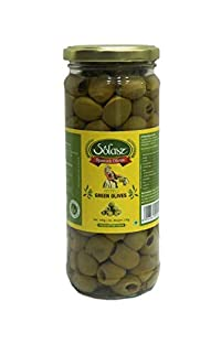Solasz Green Pitted Olives-230g