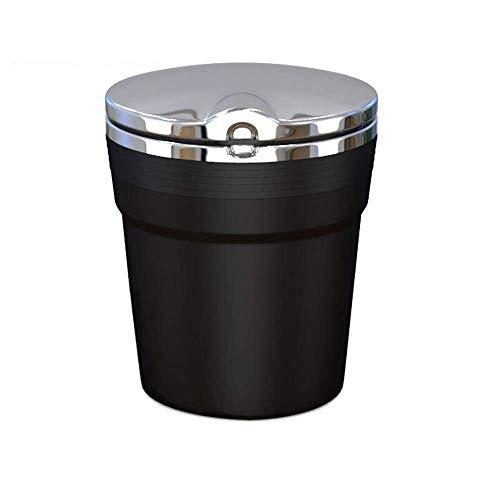 BAIJJ Auto aschenbecher rauchlöscher Auto liefert led licht flammschutz aschenbecher Schreibtisch schwarz / - / - Schwarz Poliert-schreibtisch-lampe