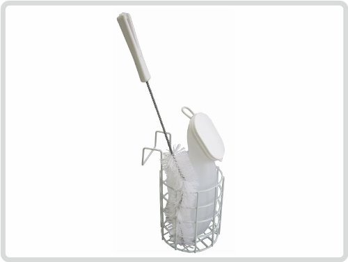 Urinflaschen-Set für Frauen michlig mit hochwertiger Bürste *Top-Qualität zum Top-Preis*