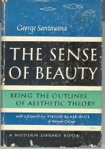 The Sense of Beauty Being the Outlines of Aesthetic Theory (Modern Library, 292.1)