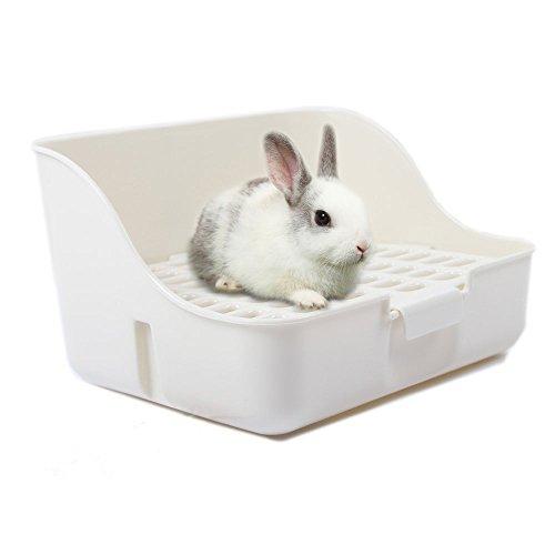 Boîte à litière de lapin MMBOX facile à nettoyer,...
