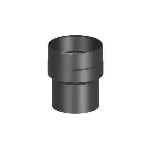 Ofenrohr/ Rauchrohr/ Erweiterung Ø 150-180mm, lackiert schwarz