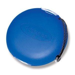 DiscGear Discus 20s tragbares CD-Etui für 20 CDs/DVDs - blau