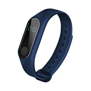 BLAUPUNKT BLP5110 Bracelet Connecté Bluetooth (Bleu pétrole)