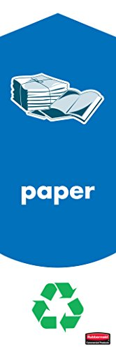 rubbermaid-commercial-products-1863186-jeu-dautocollants-slim-jim-pour-tri-de-papier-pack-de-4