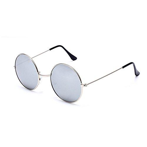 Sonnenbrille Sonnenbrille Frauen Männer Universal Polarisierte Runde Gläser Flut UV400 Anti-Glare...