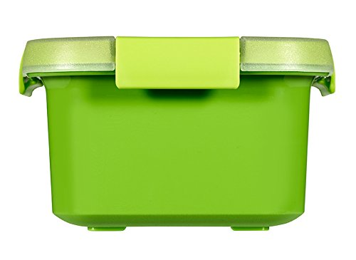 Curver Smart To Go Snack Rettangolare 0,2Lt 12X9X5H Verde