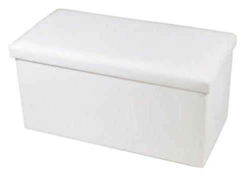 new-large-ottoman-foldaway-storage-blanket-toy-box-bench-faux-leather-white-76x38cms
