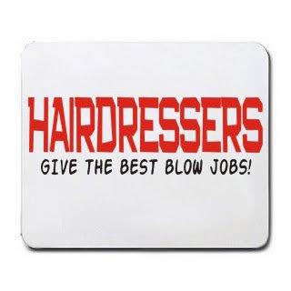 Preisvergleich Produktbild Friseure, dem Best Blow Jobs. Mousepad [Office Produkt]