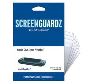 ScreenGuardz Ultra-Slim Screen Protector for Sprint Touch Pro 2 - Transparent