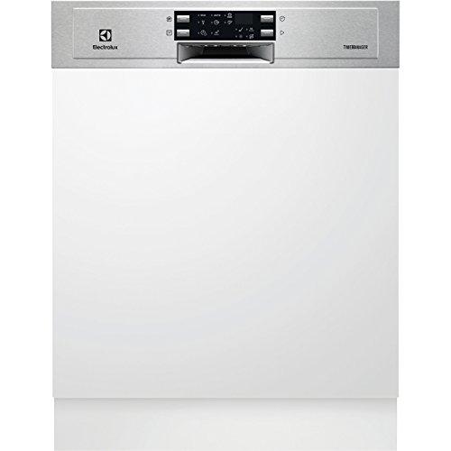 Electrolux ESI5533LOX Semi intégré 13places A+ lave-vaisselle - Lave-vaisselles (Semi intégré, Taille maximum (60 cm), Acier inoxydable, boutons, Tactil, LED, 1,5 m)