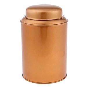 B Baosity Edelstahl Teedose/Gewürzdose Rund Vorratsdosen klein Aufbewahrungsdose