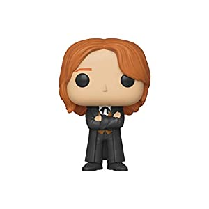 Funko- Pop Figura De Vinil Harry Potter-Fred Weasley (Yule) Coleccionable, Multicolor (42842)
