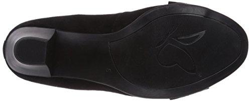 Caprice 22401 Damen Pumps Schwarz (BLACK SUEDE/004)