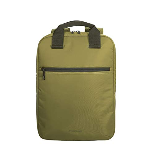 Tucano-Zaino Colorato Porta Pc per Computer da 13, 14 Pollici. Tasche Interne Imbottite per Laptop, MacBook, iPad e Tablet. Backpack Lux è Uno Zaino da Ufficio e da università, da Donna e da Uomo.