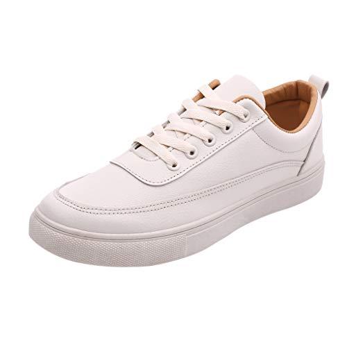 CUTUDE Walkingschuhe,Herren Sommer Wild Erbsen Schuhe Fahren EIN Pedal Faul LäSsig Business Magische Aufkleber Schuhe Hohlen Atmungsaktiv Bequeme Einzelne Schuh (Beige, 39 EU) -
