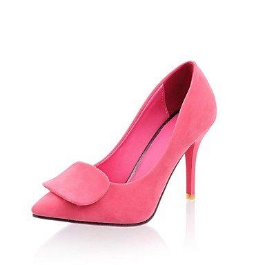 Moda Donna Sandali Sexy donna tacchi Primavera / Estate / Autunno tacchi in similpelle / Esterni / Abbigliamento Casual Stiletto Heel altri nero / blu / Red