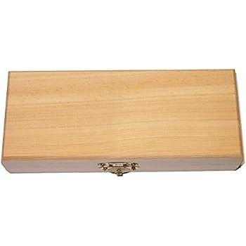 midacreativ aufbewahrungsbox holzkiste mit deckel und griffl chern kiefer gr 2. Black Bedroom Furniture Sets. Home Design Ideas