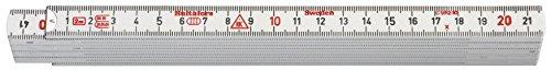 Hultafors Glasfasergliedermassstab GE 59 -mm- Metallenden, GE59-2-10 VI, 200664