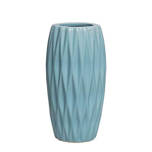 Hetoco Jarrón cerámica decoración hogar, jarrón