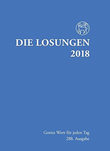 Die Losungen 2018. Deutschland/Losungen 2018: Normalausgabe