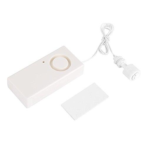 Batteriebetriebener Wasserlecksensor Detektor Wassersensor Alarm Wasserleck Überlauf Fehldetektion Alarm 120db (Klimaanlage Alarm)
