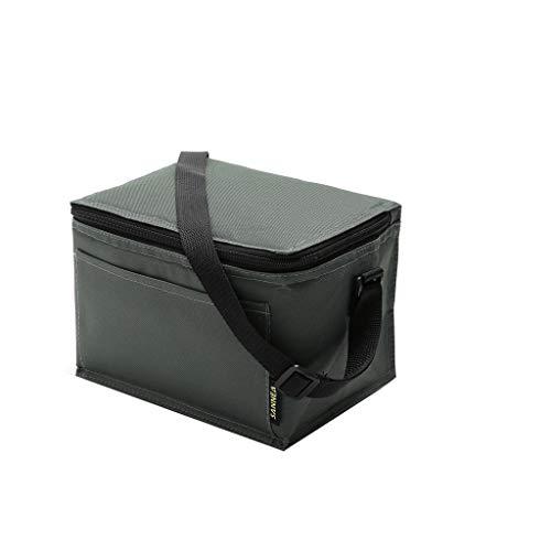 KonJin 5L Kühltasche Picknicktasche, Wiederverwendbare Isolierbeutel Für Lebensmittel Hält Essen Warm Oder Kalt Lunch Tasche Isoliertasche zur Arbeit und Schule gehen