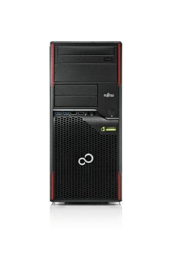 Preisvergleich Produktbild Fujitsu Celsius W420 Desktop-PC (Intel Core i7 3770,  3, 9GHz,  4GB RAM,  500GB HDD,  AMD FirePro V3900,  DVD-RW,  Win 7 Pro) rot / schwarz