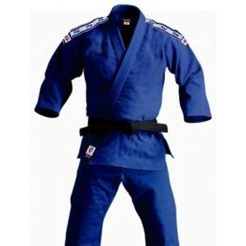 NKL - Judogi Entrenamiento Kimono Judo 450, Color Azul, Talla 130