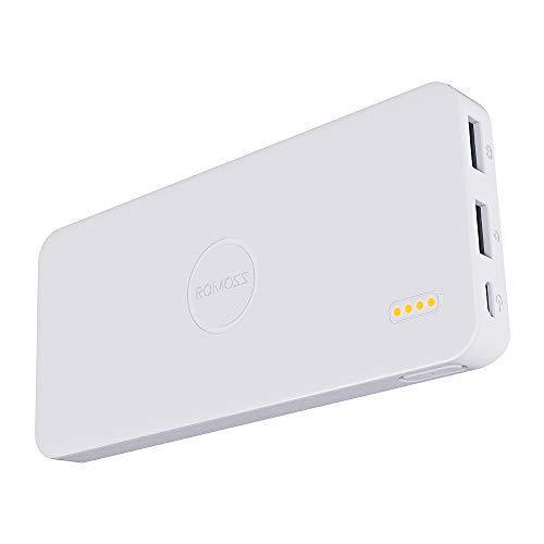 ROMOSS Polymos 5 5000mAh External Battery Pack Power Bank - White
