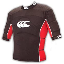CCC flexitop plus rugby shoulder pads [red/black]
