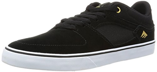 Emerica the Hsu Low Vulc, Chaussures de Skateboard Homme Black/White