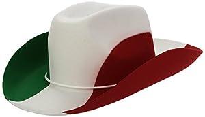 Carnival 05984-Sombrero vaquero adulto Italia de fieltro