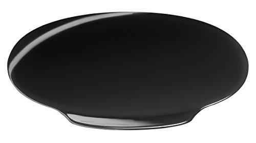 Tork 205638 Deckel für Abfallbehälter/Hochwertiger Flachdeckel für Elevation Abfallbehälter in schwarz/Sanftes Schließen