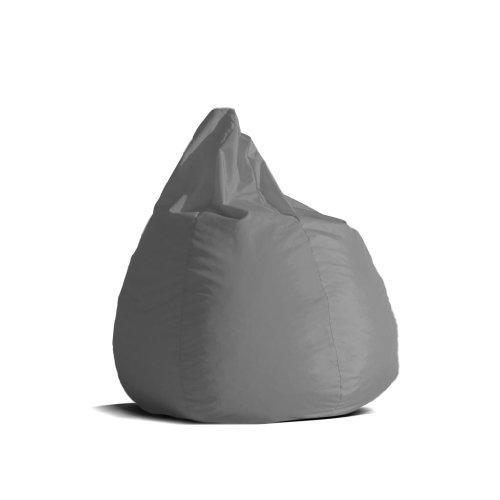 Pouf-poltrona-sacco-media-BAG-L-Jive-tessuto-tecnico-antistrappo-grigio-imbottito-Avalon