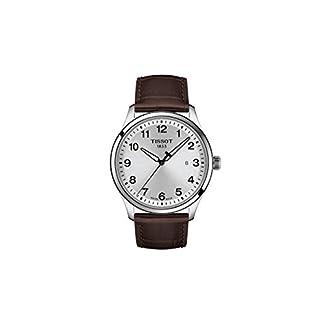 Tissot Reloj Analógico para Hombre de Cuarzo con Correa en Cuero T1164101604700