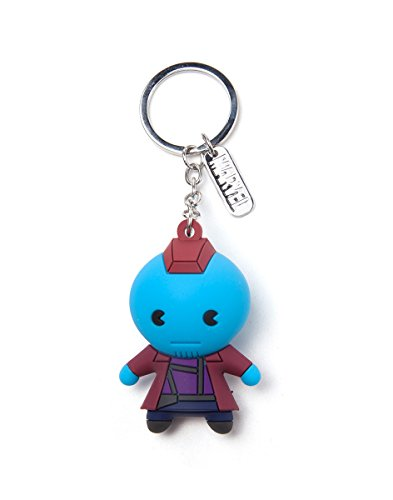 Marvel Kawaii Art Collection Keychain Fondu Kawaii 3D Blue