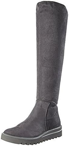 Tamaris Damen 25601 Stiefel, Grau (Graphite), 42 EU