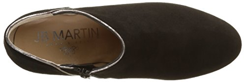 Jb Martin Damen 2 Selma H16 Klassische Stiefel, Knöchelhoch Noir (Che Vel Noir/T Specchio Acier)