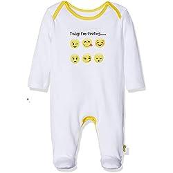 Emoji - Pijama Entero para Niños Bebés - Emoji - 12 - 18 Meses