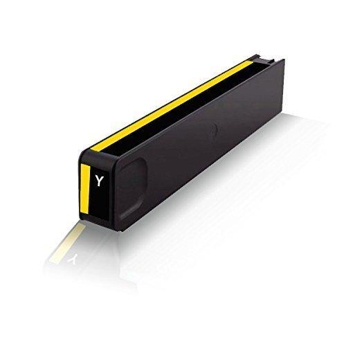 Preisvergleich Produktbild Print-Klex kompatible Tintenpatrone für HP OfficeJet Pro X476 dn X476 dw X551 dw X576 dw HP971 HP-971 HP-971XL HP-971Y HP971XLY CN624AE CN 624AE CN628AE Yellow Gelb