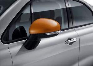 Coque de Rétroviseur Orange pour 500X à partir de 2015- Origine Constructeur