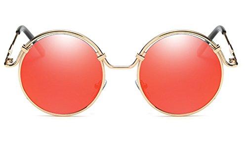 Sucatle Die neuen, Sonnenbrillen, Mode, Trends, runde Rahmen, Sonnenbrillen, der Zustrom von Menschen, Männern und Frauen, der gleichen Absatz, Sonnenbrillen, Brillen Sucatle