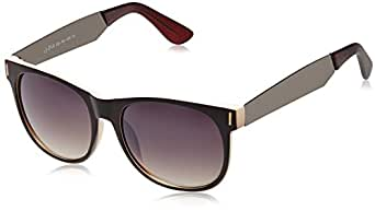 9199136dd5 ... Joe Black Wayfarer Sunglasses (Matte Brown and Cream) (JB-228